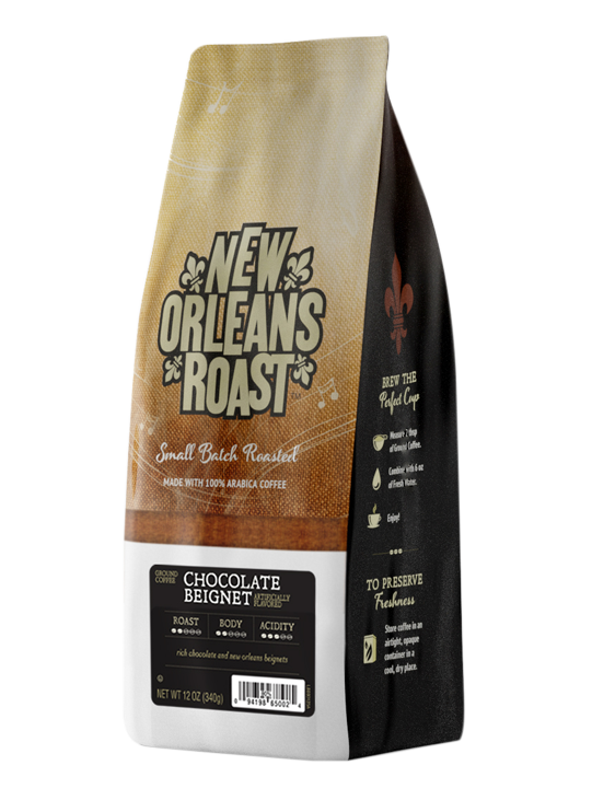 Bag of Chocolate Beignet Coffee