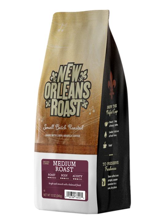 Bag of Medium Roast Coffee