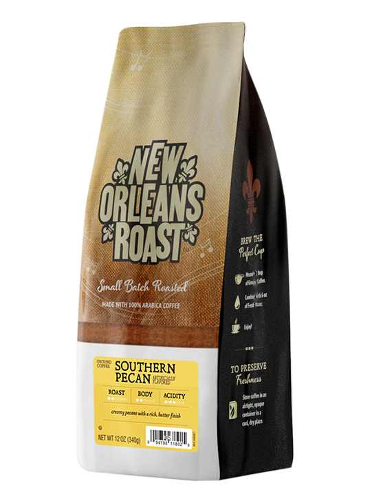 Bag of Southern Pecan Coffee