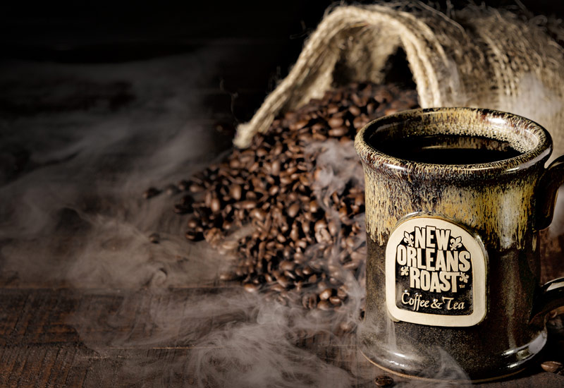 Image of Coffee with smoke, headline reads EGiftcards now availabe for online purchases only