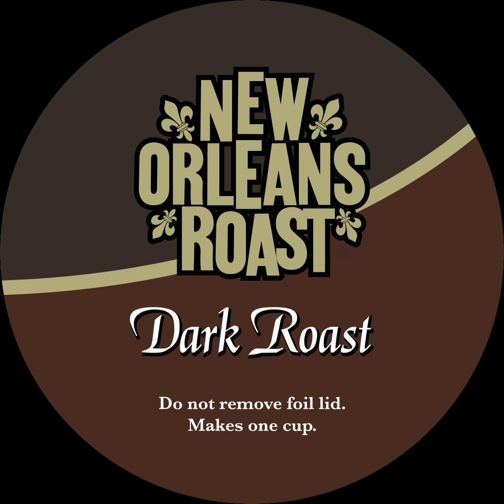 Dark Roast Single Serve Label