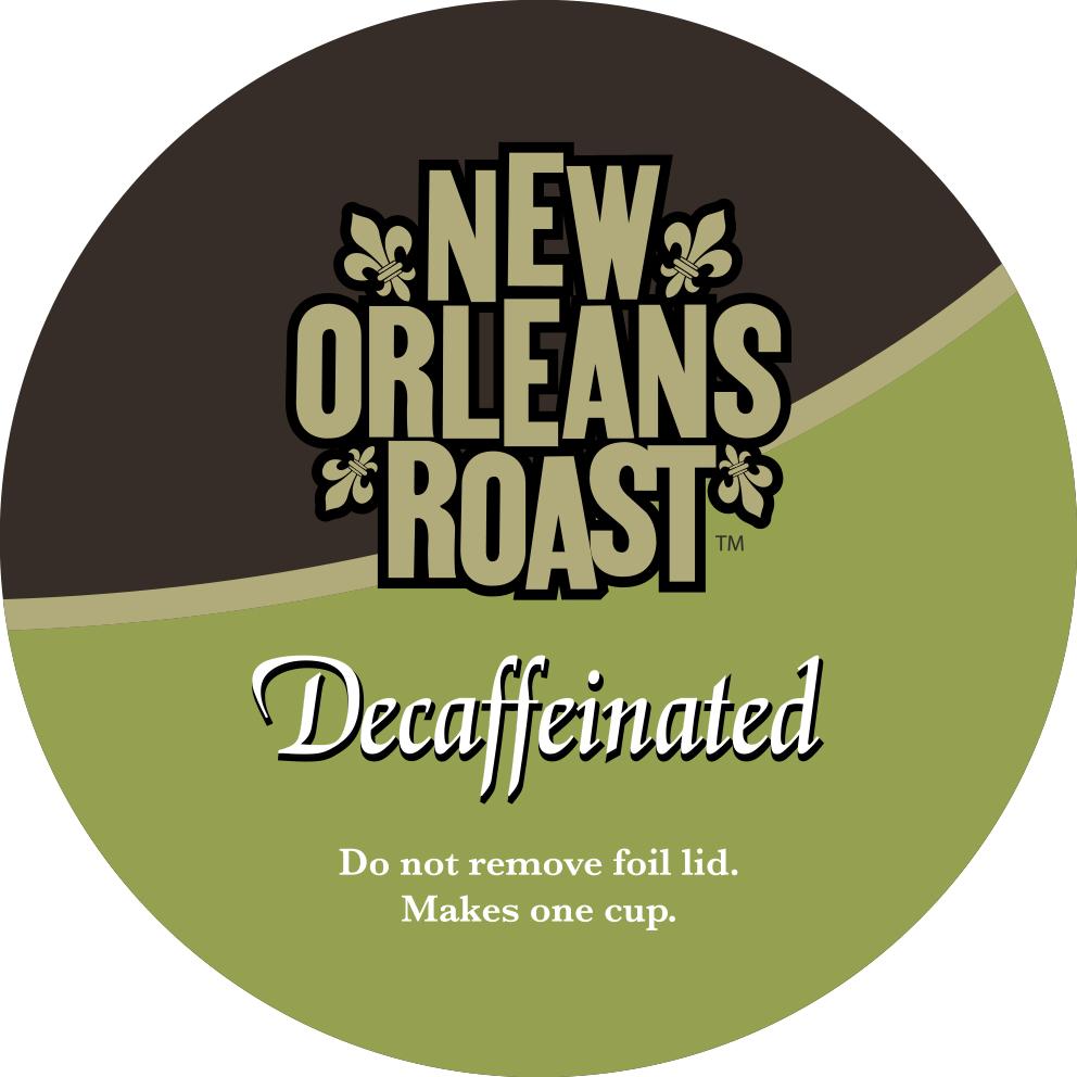 Decaf Single Serve Label
