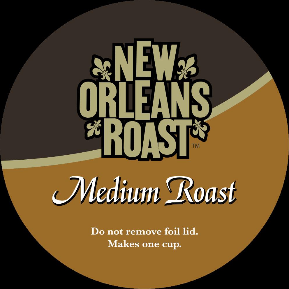 Medium Roast Single Serve Label