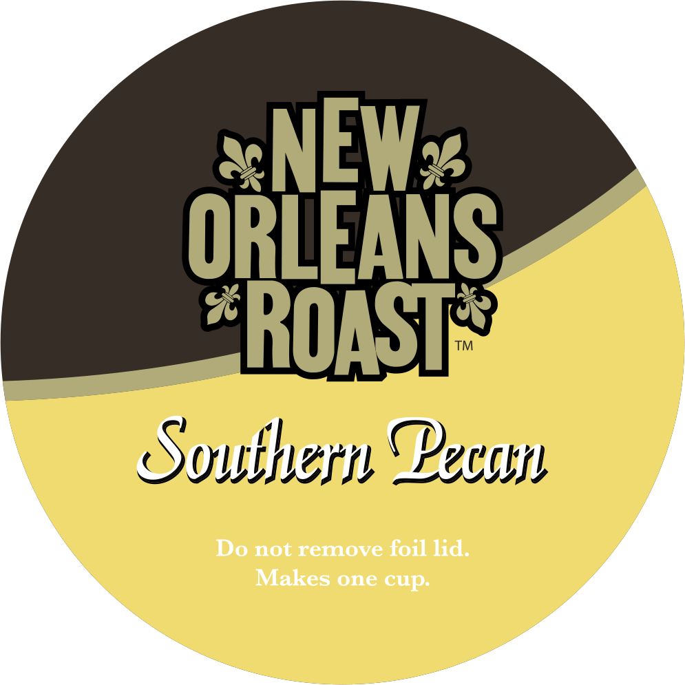 Southern Pecan Single Serve Label
